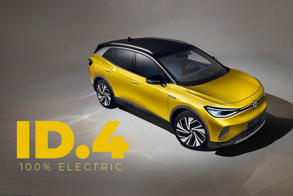 100% electric Volkswagen ID.4
